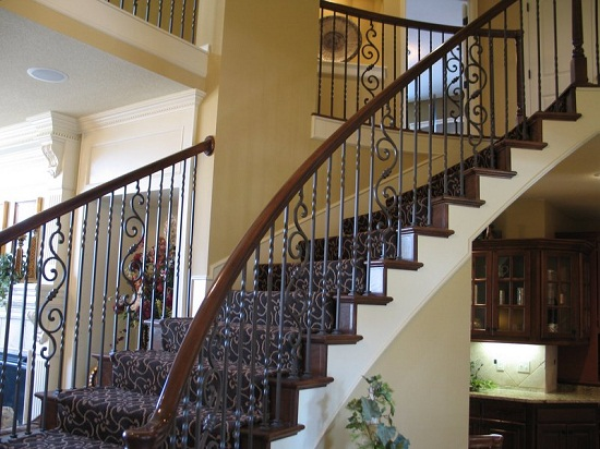 Wrought Iron Balusters for Stairs