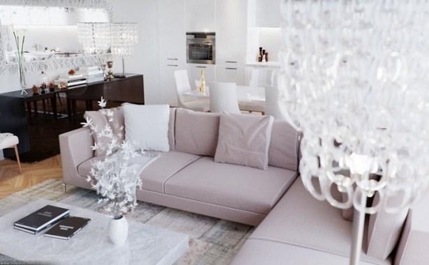 Living Room Interior Design Eduard Caliman