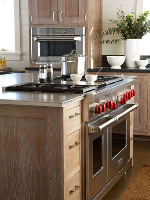 Kitchen Islands With Built In Appliances