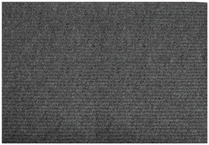 Floor Mat, Rectangular, 48 in L, 36 in W, Polypropylene Face