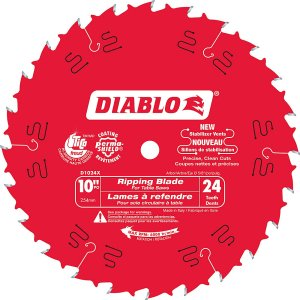 Diablo 10 In.  Ripping Blade – 24 teeth