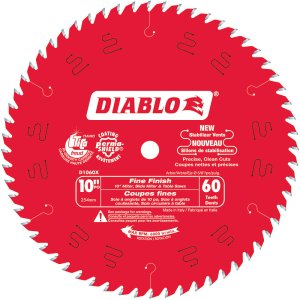 Diablo 10 In. x 60 Tooth Fine Finish Blade