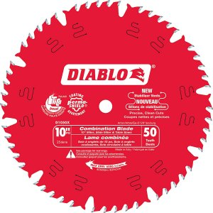 Diablo 10 In. Combo Blade – 50 Teeth