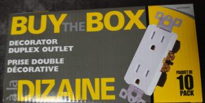 Buy The Box (10 pack) – Decorator Duplex Outlet