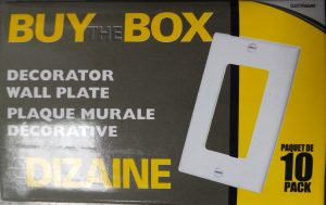 Buy The Box (10 pack) – Decorator Wall Plate