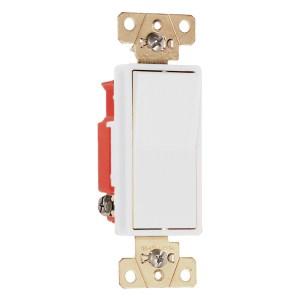 15/20-Amp Single Pole Rocker Light Switch