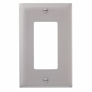 1-Gang Decorator Rocker Nylon Wall Plate