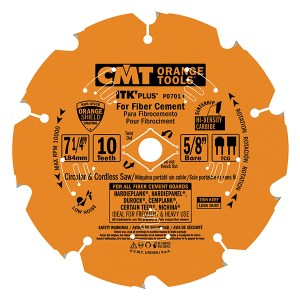 CMT- CIRCULAR SAW BLADES FOR FIBER CEMENT PRODUCTS