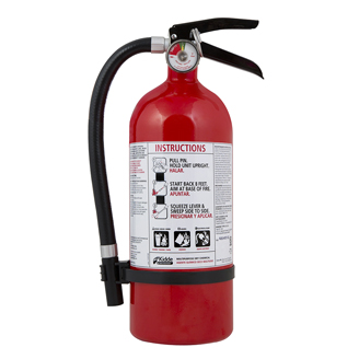 Fire Extinguisher at Kelly Lake