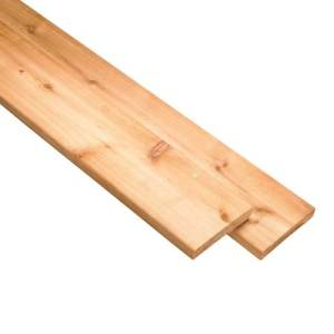 1×6 Treated Wood Fence Board