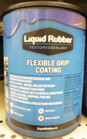 Liquid Rubber Flexible Grip Coating