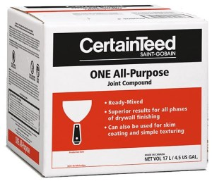 CertainTeed One All-Purpose Joint Compound