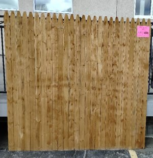 """72"""" X 8′ Privacy Fence"""