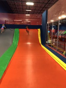 Family Fun at the Trampoline Park