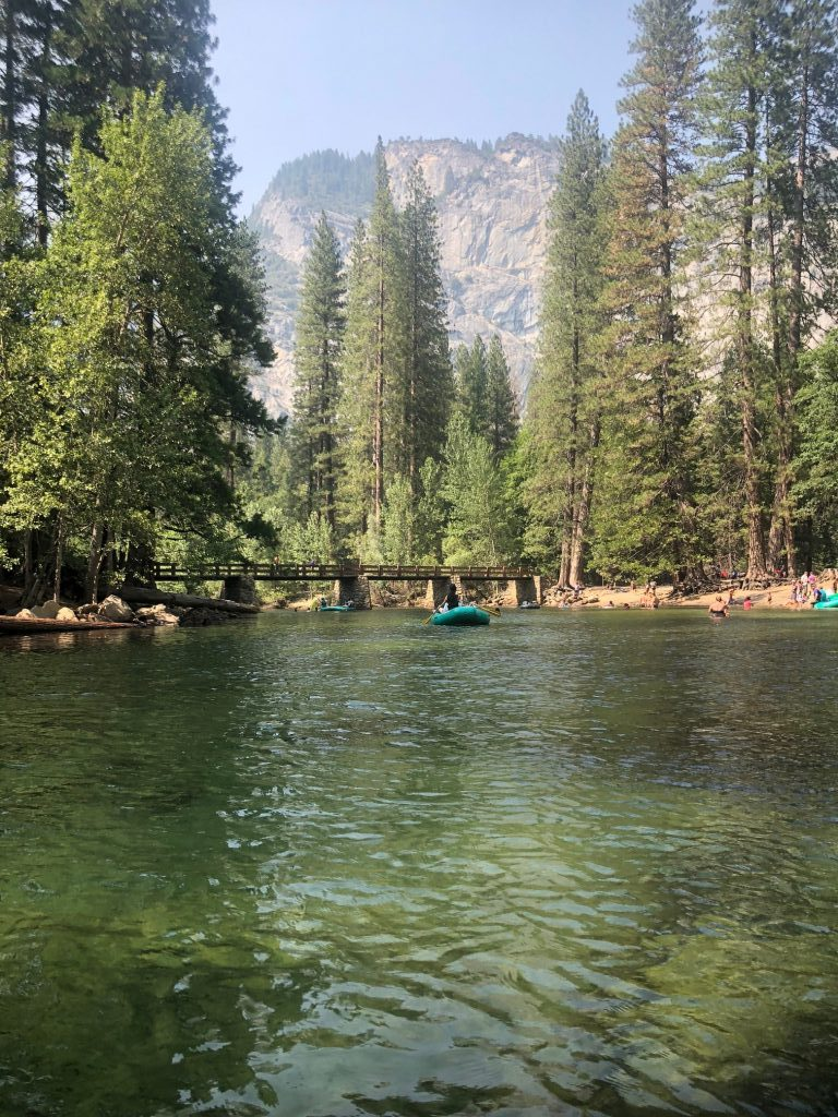 Hiking, Biking & Rafting in Yosemite from Kelly Luvs