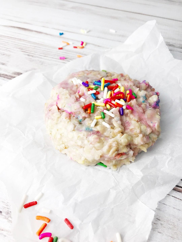 Birthday Cake No Bake Cookies Kelly Lynns Sweets And Treats