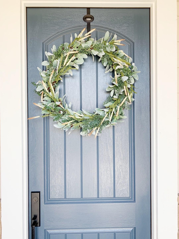 Classic Diy Front Door Wreath Kelly Lynn S Sweets And Treats
