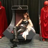Mara Jade costume, Emperor's Throne Room