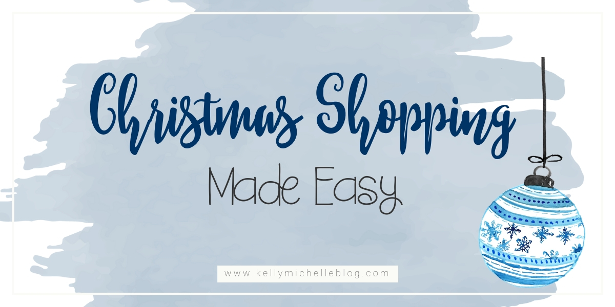 Christmas Shopping tricks to make shopping quicker and easier.