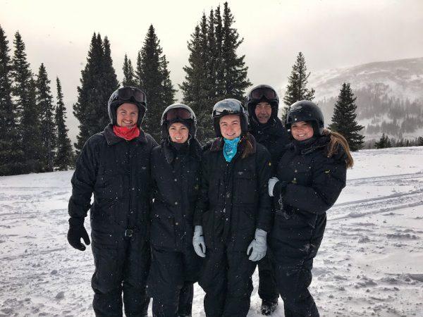 Breckenridge Vacation Snowmobiling through Georgia Pass in Colorado