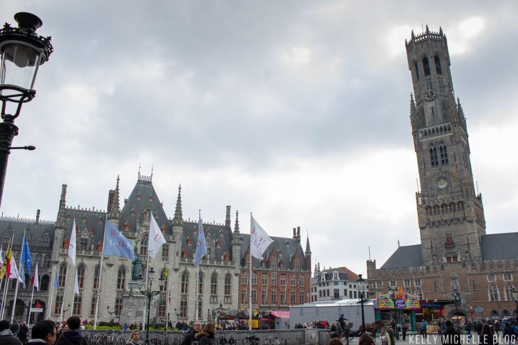 Walking tour through Bruges