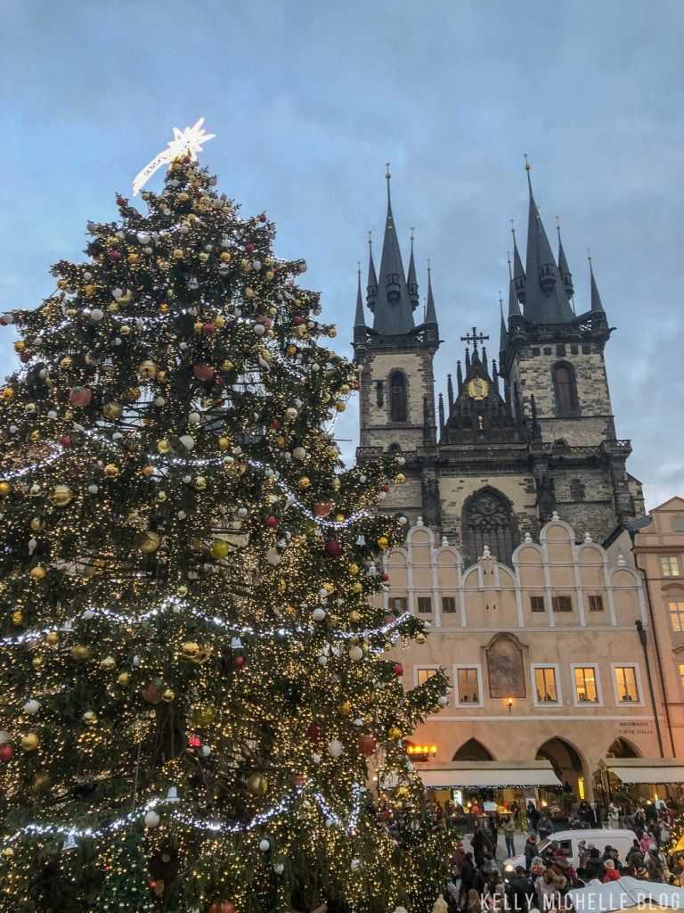 Weekend trip to Prague during Christmas Markets.