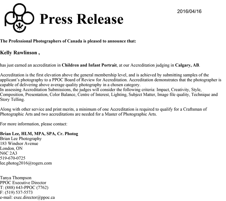 PPOC press release