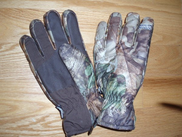 Men's Hot Shot Camo Hunting Gloves