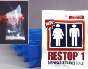 Restop 1 Disposable Travel Toilet
