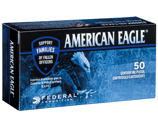 American Eagle C.O.P.S. - 115 gr FMJ 9mm - 1000 Rnds
