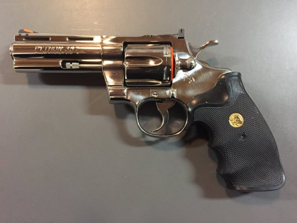 """4"""" Colt Ultimate Stainless Python - .357 Mag"""