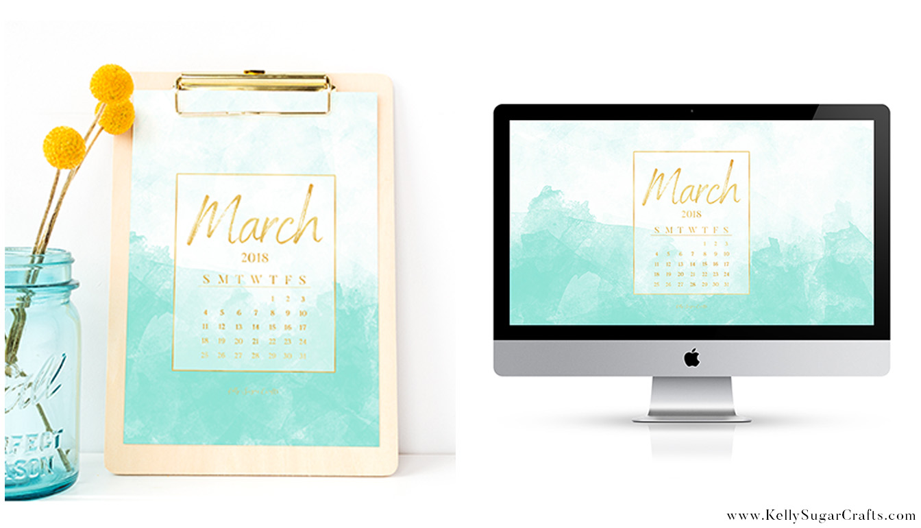 Calendar Wallpaper Automatic Update : March calendar wallpapers printable kelly sugar