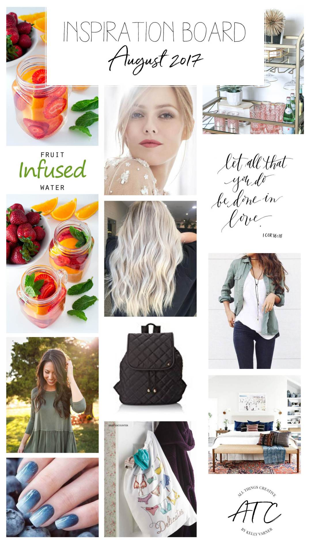 August inspiration board