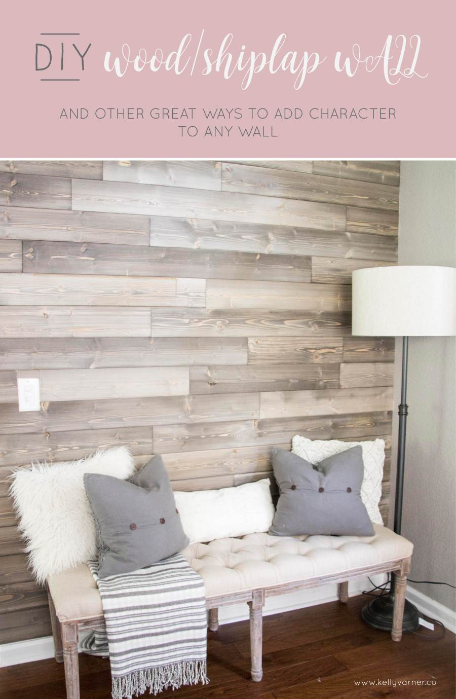 DiY wood wall