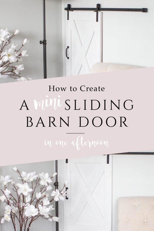 mini sliding barn door