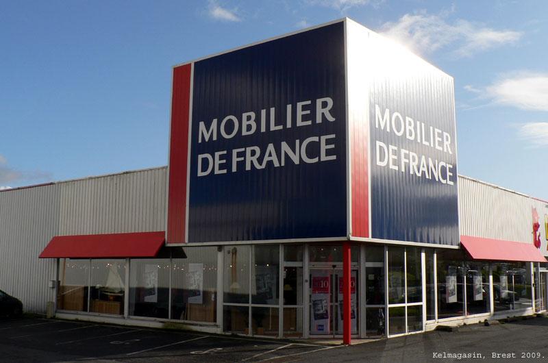 trouver un magasin mobilier de france