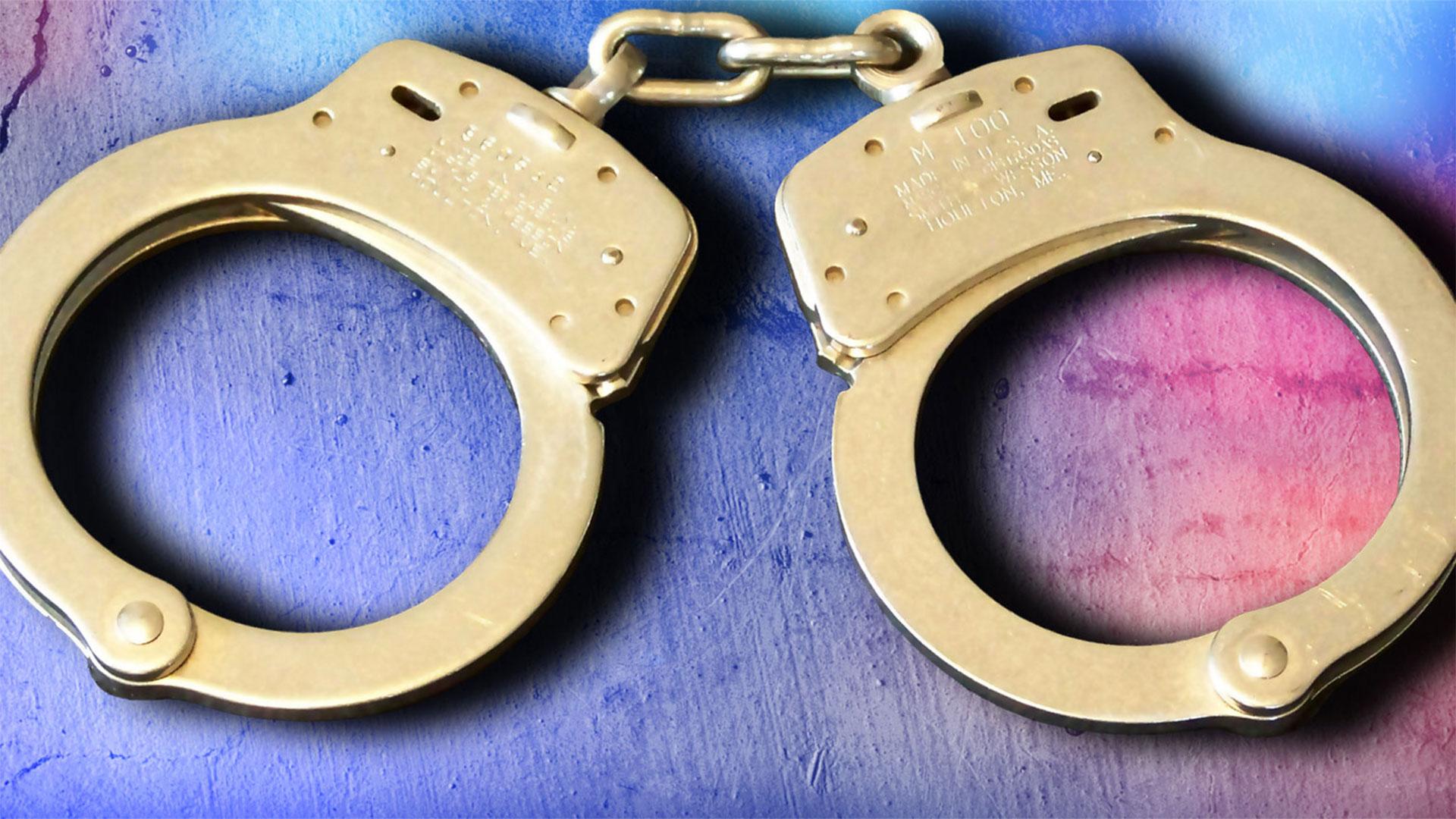 KELO handcuffs crime