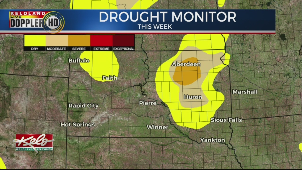 Despite Heavy Rain Totals, Some Areas Of KELOLAND Still In Drought