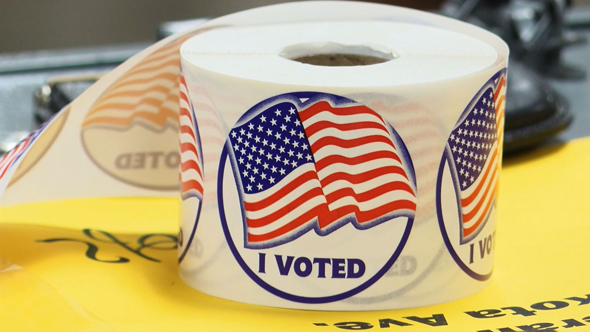 KELO voted stickers election vote