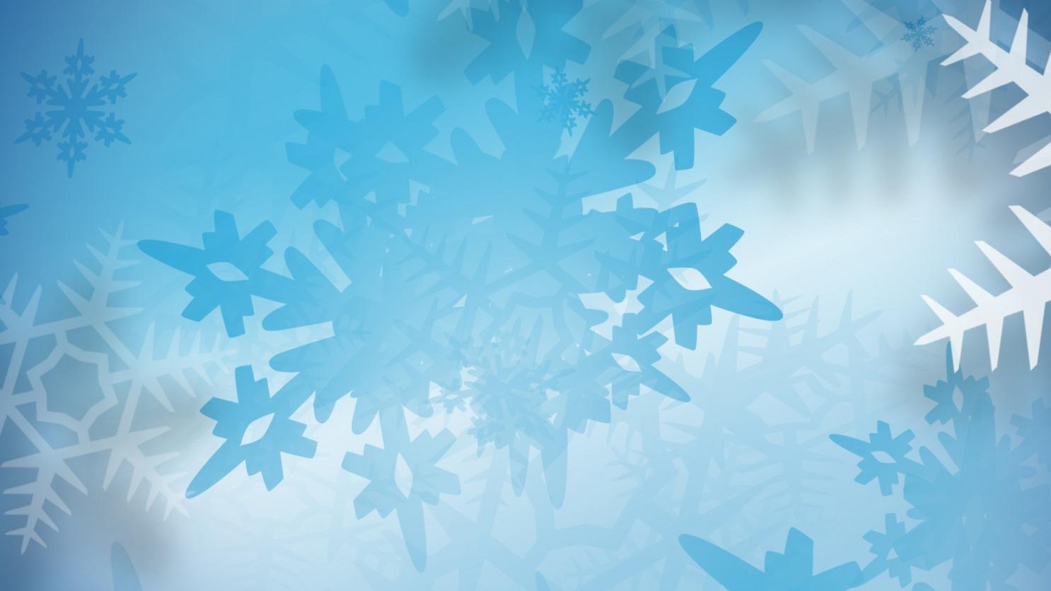KELO snow snowflakes generic