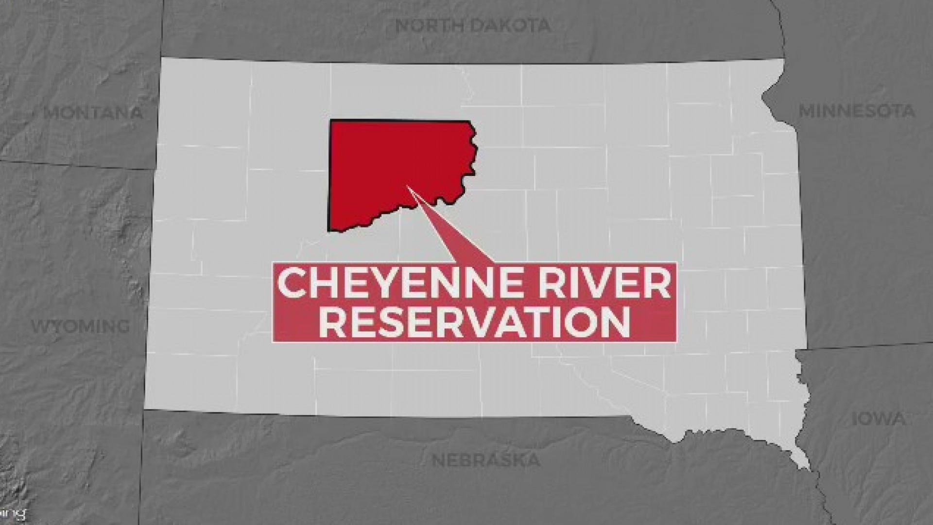 Body of missing girl found in swollen South Dakota creek