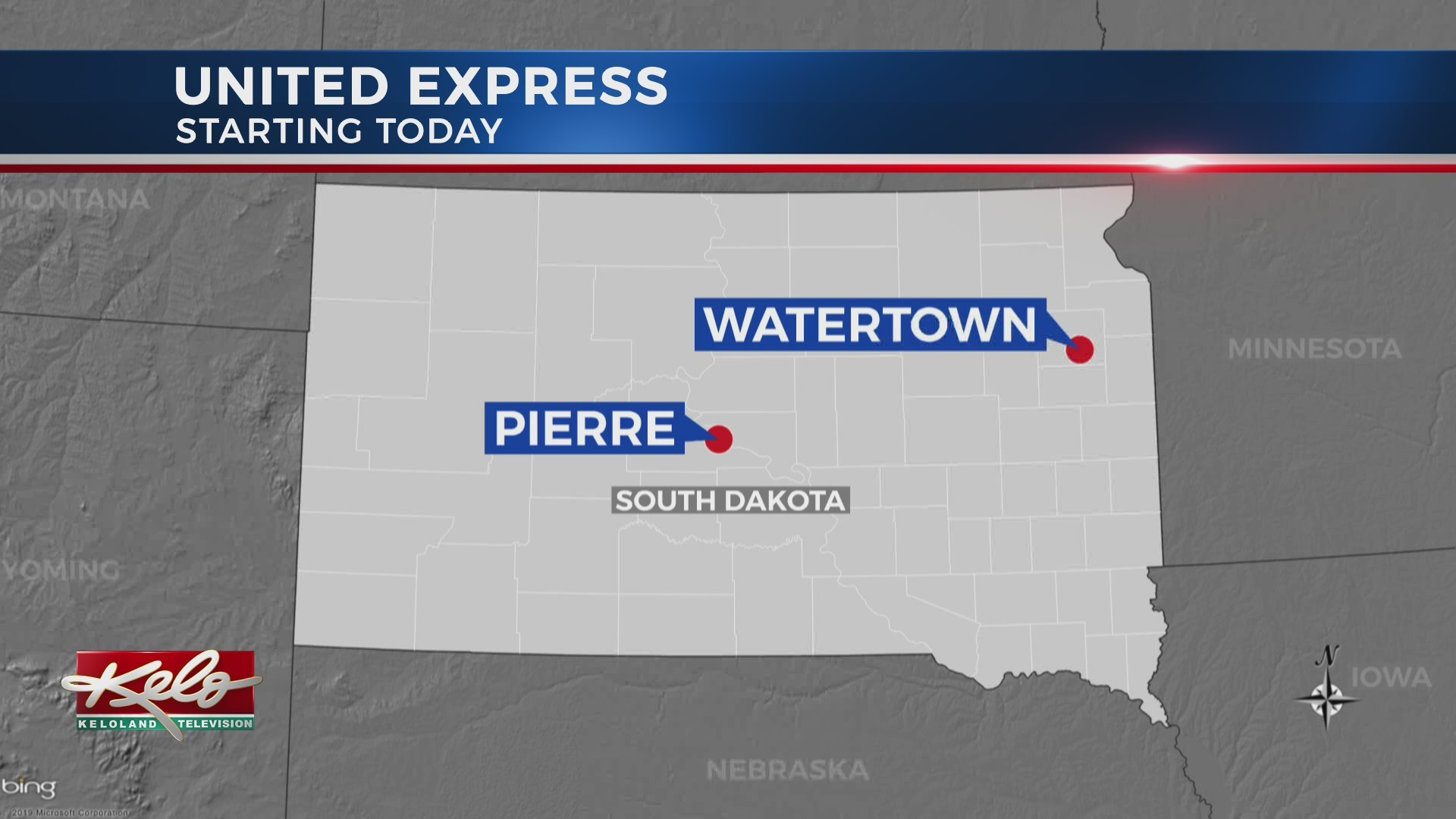 Commercial Air Service Returns To Pierre, Watertown