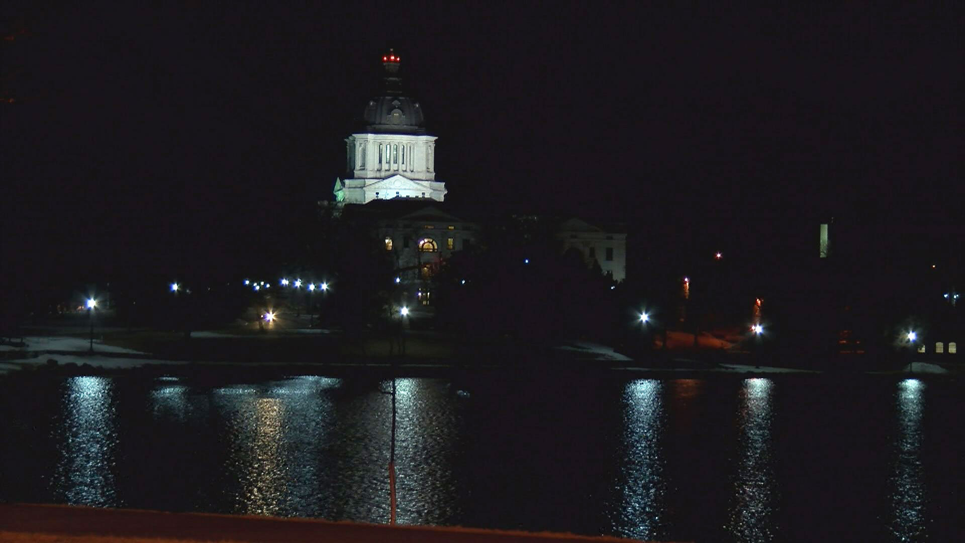 KELO Pierre Capitol Night