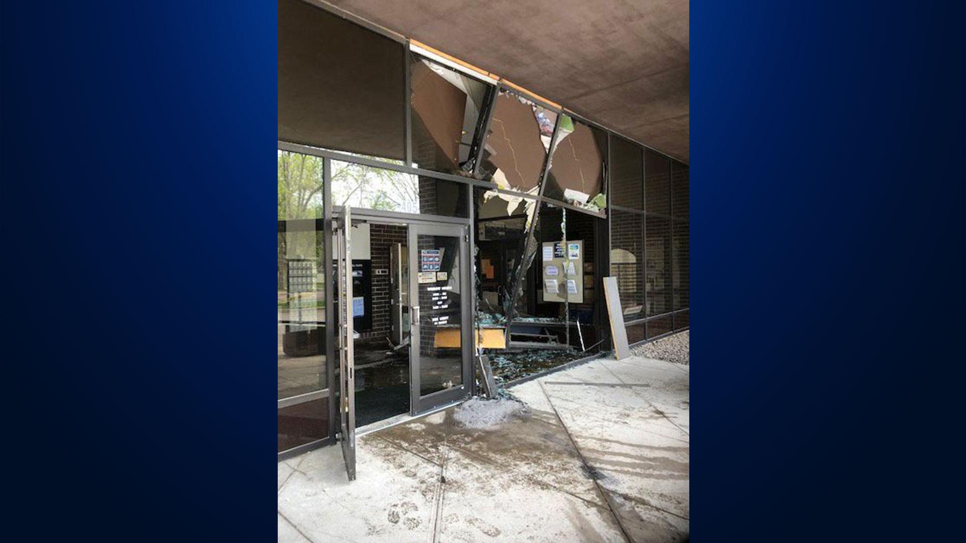 KELO Watertown Post Office Crash