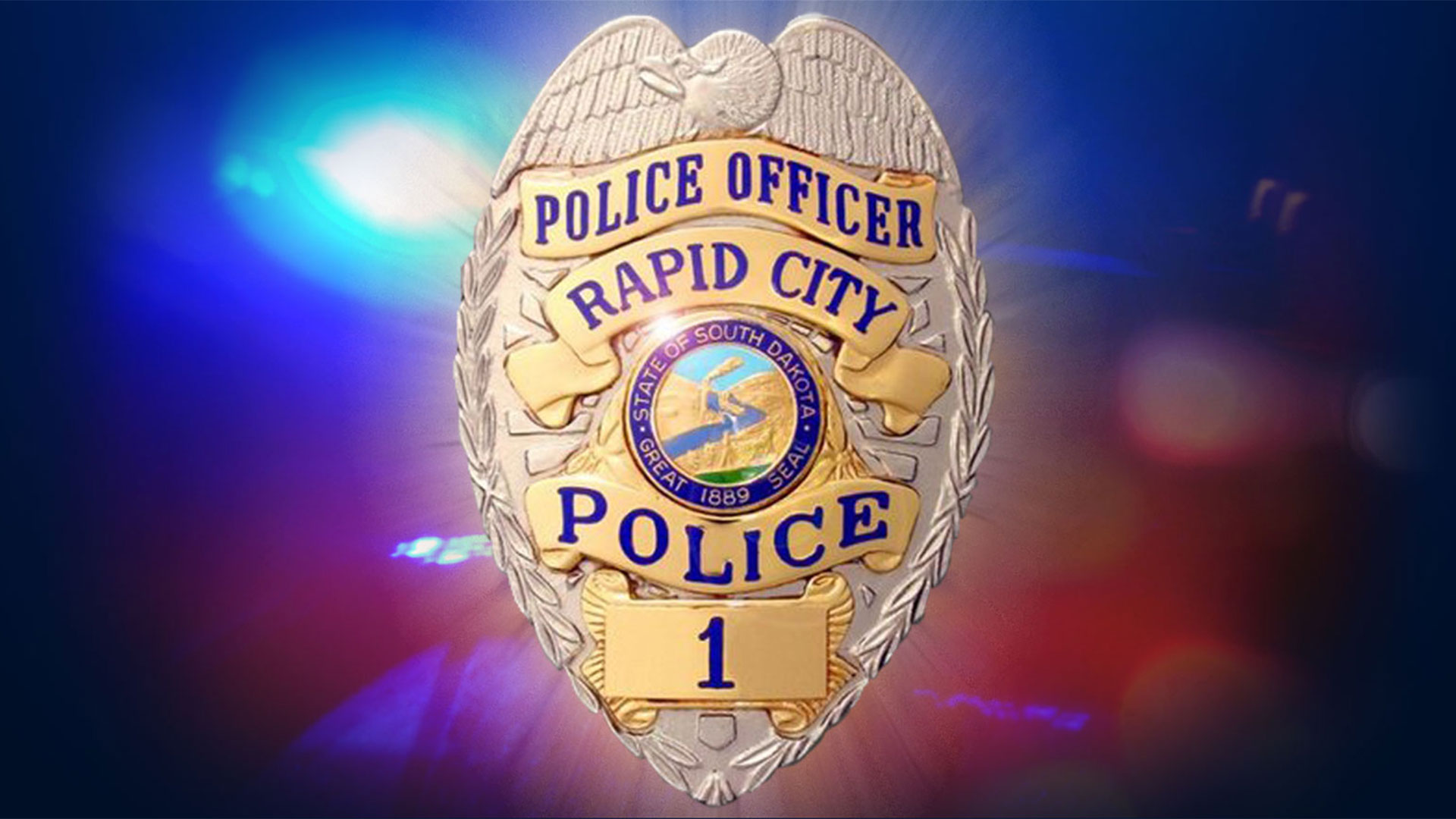 KELO Rapid City Police badge