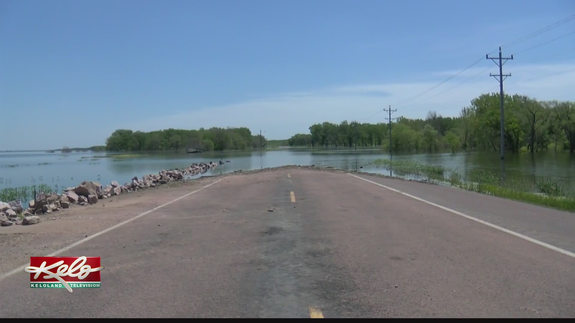 Slow-draining Lake Andes causing problems