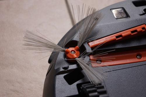 brosse latérale de l'aspirateur robot rowenta