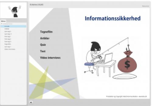 Humor mod hackere tegnefilm fra Kelsa Media