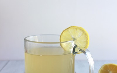 Apple Cider-Ginger Immune Tonic with Lemon