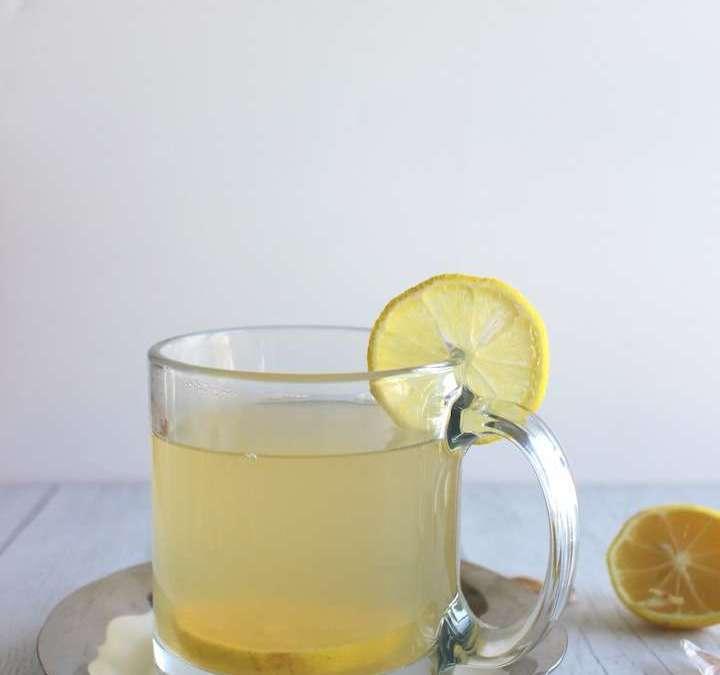Apple Cider-Ginger Immune Tonic with Lemon